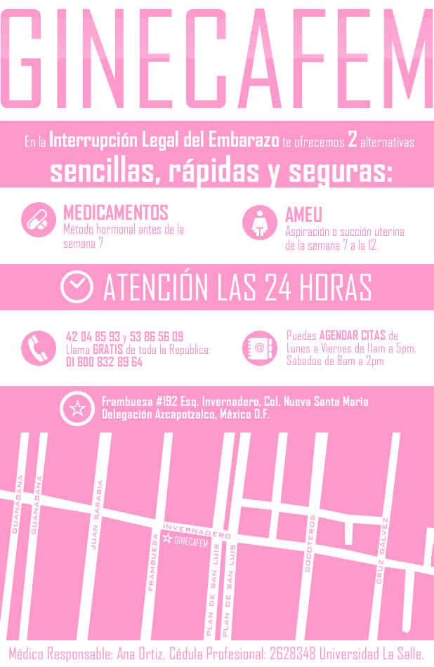 INTERRUPCION LEGAL DEL EMBARAZO